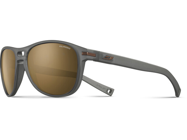 Julbo Galway Polarized 3 Occhiali da sole, matt black/brown
